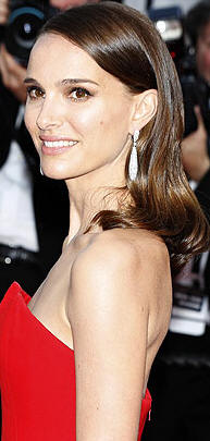 Natalie Portman Hair Color smooth style